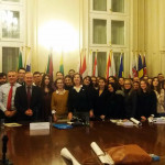 First year students visit the Information Office of the European Parliament